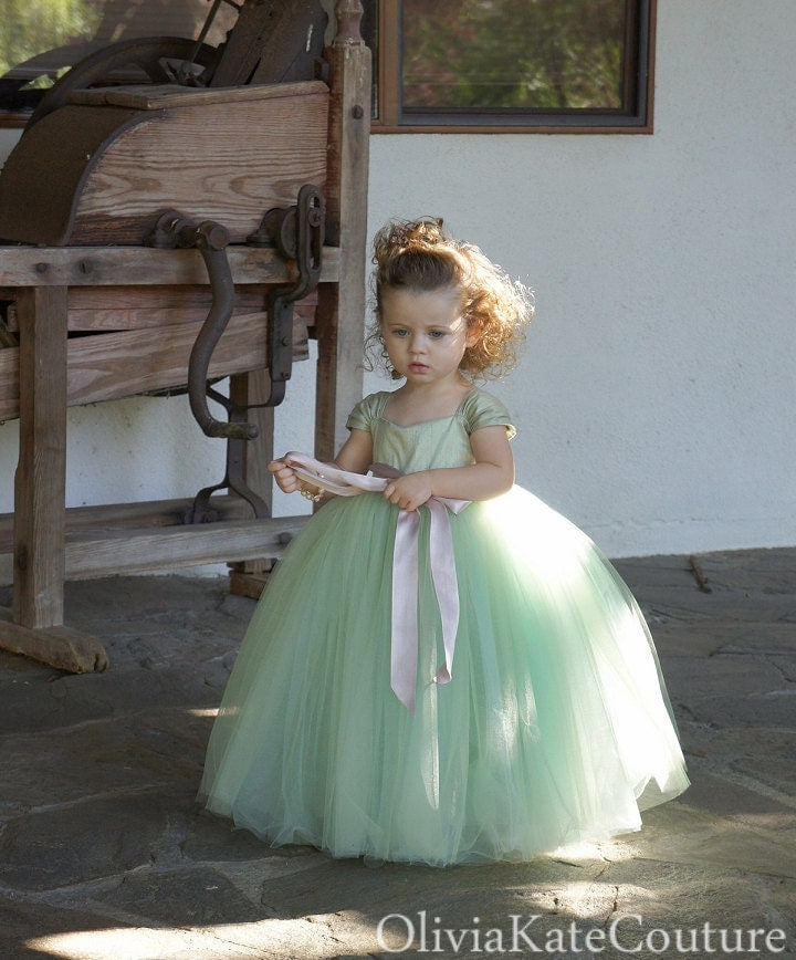 Flower Girl Dress Custom By OliviaKateCouture On Etsy