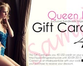 GIFT CARD 40 USD