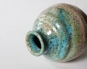 Pottery Jar  Wheel thrown Great for Scent Diffuser or Home Decor Vase
