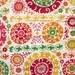Dear Stella, Bhukara Suzani Multi Fabric - REMNANT Size 21 Inches by 44 Inches
