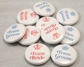 20 Team Bride and Team Groom Favors-Crown