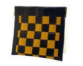Duct Tape Coin Purse - Yellow & Black