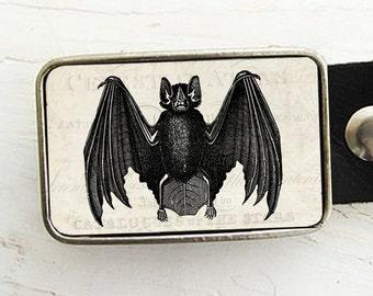 Vintage Bat Belt Buckle