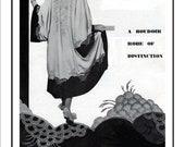 1930s Kimono Wrap Vintage Sewing and Embroidery pattern pdf