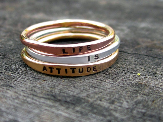 Custom Mixed Metals Stacking Set for psweitzer92