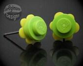 LEGO Earrings - Flowers