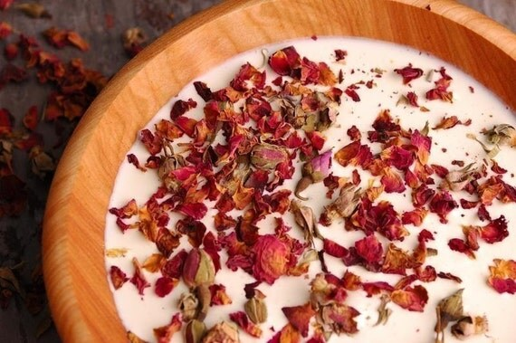 Roses and Cream SWEET Natural Milk Bath