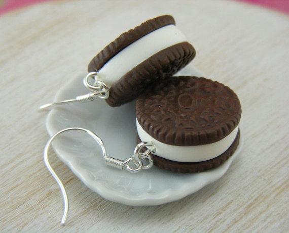 Oreo Cookie Earrings