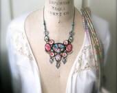 Vintage Bohemian Rocker Chick necklace