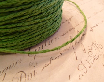 Spring Green Paper Twine