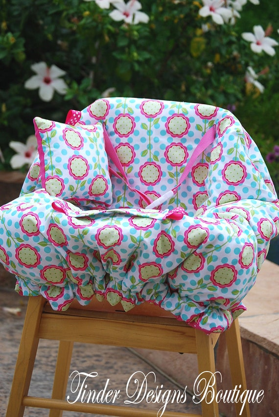 Shopping Cart Cover -  Shopping Cart Cover for Baby Girl  - Andalucia