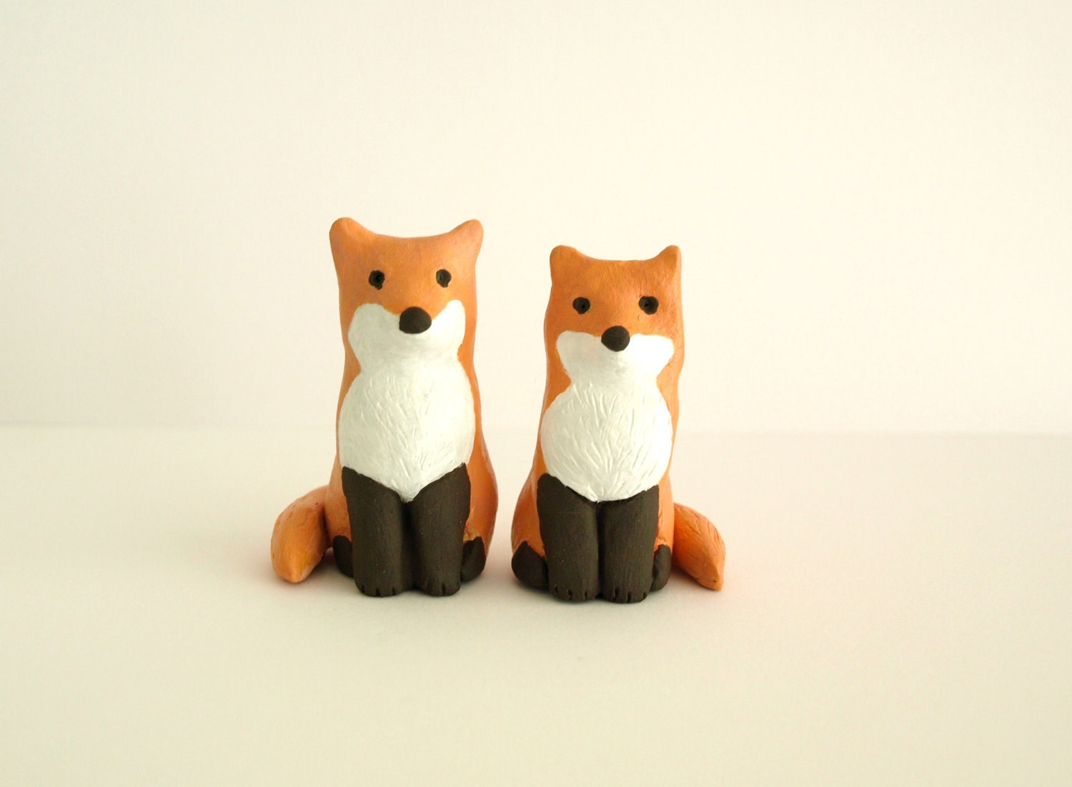 Cute Animal Wedding Cake Toppers