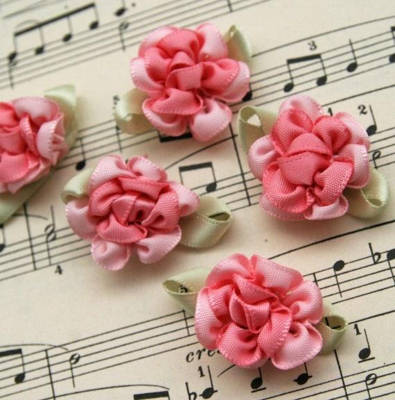 Ultimate Ribbon Roses BUBBLEGUM PINK