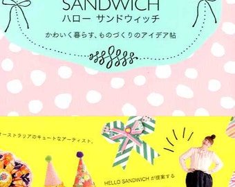 Hello Sandwich - JAPANESE Zakka Craft Book