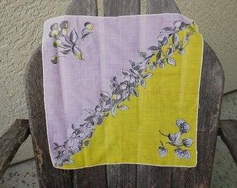Vintage Hankie Handkerchief