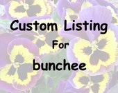 Custom Order - Pansy - Harvest Fine Art Print - - 5x7 Greeting Cards