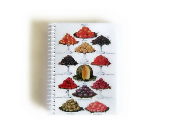 Mrs. Beeton's Fruits - Notebook Spiral Bound - 4 x 6