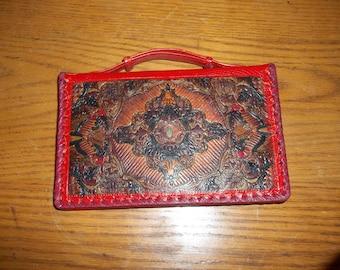 Vintage Leather Clutch Purse