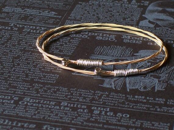 Guitar String Bangle Bracelet Set 9