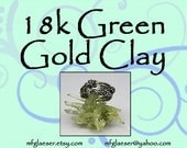 18k Green Gold Clay