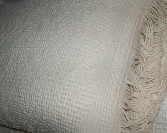 Morgan Jones Cotton Chenille Pillow Cases Sham Set Morgan Jones Vintage sewbuzyb sst