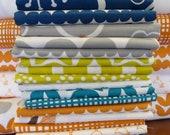 Bella - By Lotta Jansdotter - For Windham Fabrics - Fat Quarter Set - 12 Prints - 27.95 Dollars