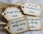 100 Wedding Escort Cards - Wedding Place Cards - Wedding Seating Cards