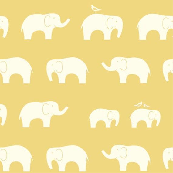 Birch MOD BASICS Ellie Fam Sun- Organic Cotton Fabric - 1/2 yard