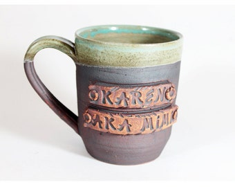 Personalized coffee MUG, Custom name Mug, Personalized Pottery, Cup with your name, One of a Kind, Ceramics