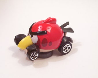 Angry Birds - Red Bird : Hot Rod, Refrigerator, Man Cave, Stocking Stuffer, Magnet