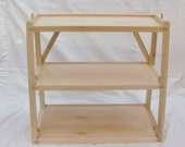 Collapsible  Display Shelves