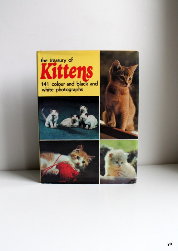 The Treasury of Kittens - 1970s Book