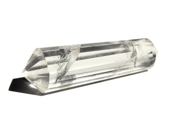 Faceted Quartz Crystal