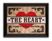 SALE The Heart Cross Stitch kit - Large