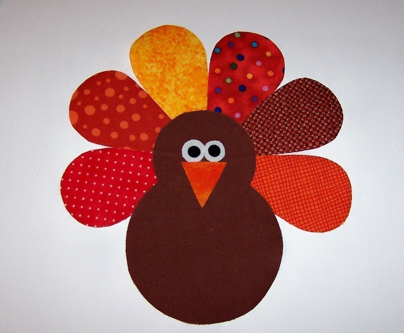 This is a graphic of Fabulous Printable Turkey Pattern