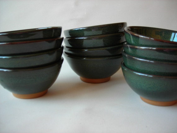 Reserved Listing for Dharshi - 12 Bowls