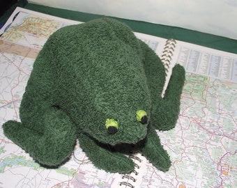 Stuffed Frog Pattern Etsy