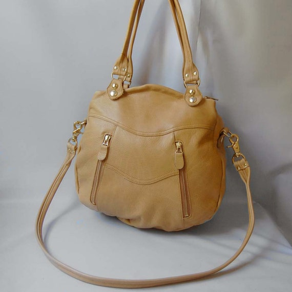 New color: Larch bag in honey wheat - ready to ship - REDUCED