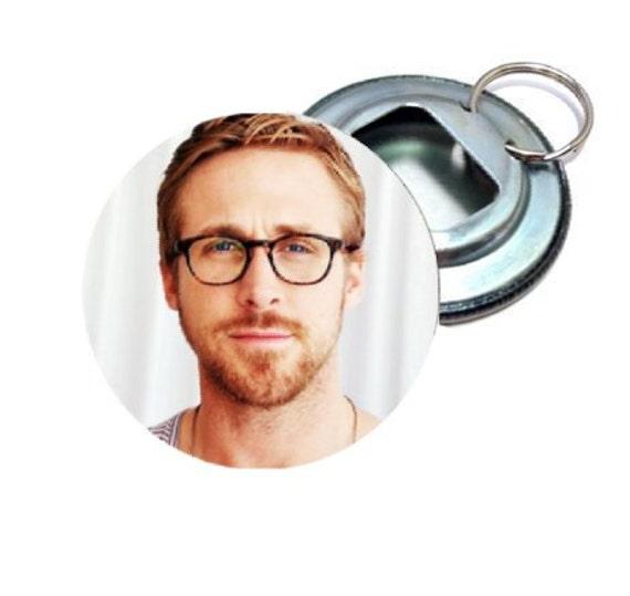 Bottle Opener - Ryan Gosling with glasses
