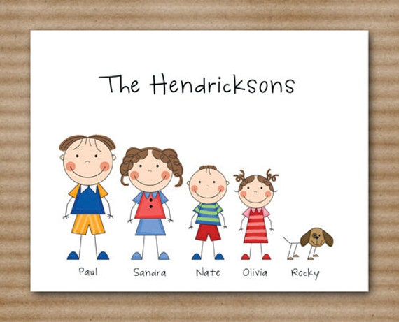 Family Cards Stationery Images