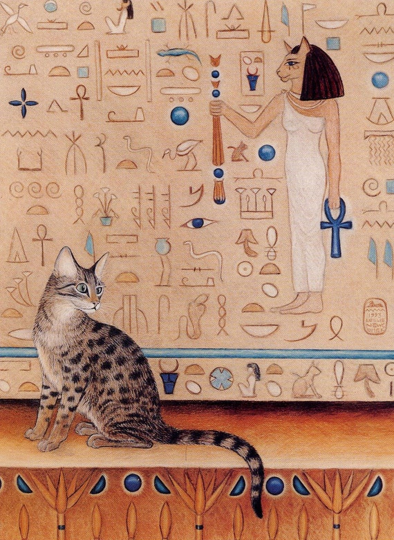 What do cats mean to egypt