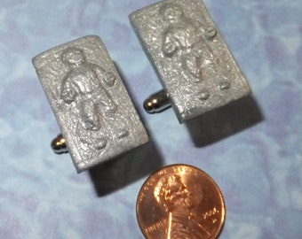 CUFFLINKS Han Solo in carbonite
