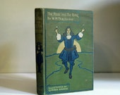 Vintage Book 1909 William Thackeray, The Rose and the Ring, Satire, Fairy Tale Antique