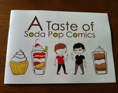 Black Friday Etsy A Taste of Soda Pop Comics: 16 page full color comic book