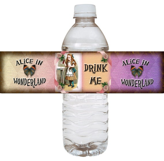Alice In Wonderland Water: Alice In Wonderland WHiMSiCaL Drink Me Water