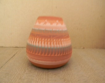 Dena Johnson . signed . Southwest Pottery vase