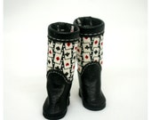 LADYBIRD HOUSE Blythe Outfit  Poker Boots - Black