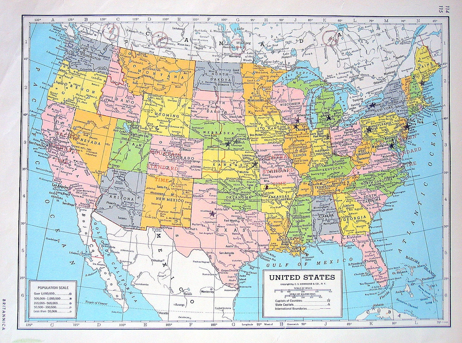 United States Map Vintage Map Download Antique Map History Map Of - Usa full map