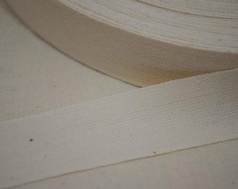 Plain Cotton Tape 10 yards