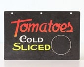 Vintage Tomatoes Sign